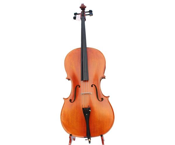 面板实木底板贴花大提琴